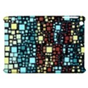 Block On Block, Aqua Apple iPad Mini Hardshell Case View1