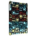 Block On Block, Aqua Apple iPad Mini Hardshell Case View2