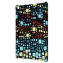 Block On Block, Aqua Apple iPad Mini Hardshell Case View3