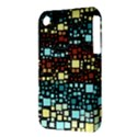 Block On Block, Aqua Apple iPhone 3G/3GS Hardshell Case (PC+Silicone) View3