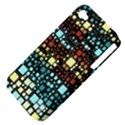 Block On Block, Aqua Apple iPhone 4/4S Hardshell Case (PC+Silicone) View4