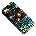 Block On Block, Aqua Apple iPhone 4/4S Hardshell Case (PC+Silicone) View5
