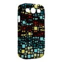 Block On Block, Aqua Samsung Galaxy S III Classic Hardshell Case (PC+Silicone) View2