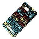 Block On Block, Aqua HTC One SU T528W Hardshell Case View4