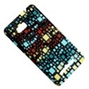 Block On Block, Aqua HTC One SU T528W Hardshell Case View5