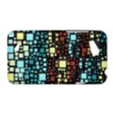 Block On Block, Aqua HTC Desire VC (T328D) Hardshell Case View1