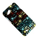Block On Block, Aqua HTC Desire VC (T328D) Hardshell Case View5