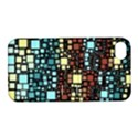 Block On Block, Aqua Apple iPhone 4/4S Hardshell Case with Stand View1