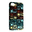 Block On Block, Aqua Apple iPhone 4/4S Hardshell Case with Stand View2