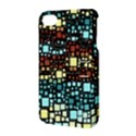 Block On Block, Aqua Apple iPhone 4/4S Hardshell Case with Stand View3