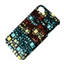 Block On Block, Aqua Apple iPhone 4/4S Hardshell Case with Stand View4
