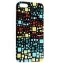 Block On Block, Aqua Apple iPhone 5 Hardshell Case with Stand View2