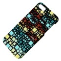 Block On Block, Aqua Apple iPhone 5 Hardshell Case with Stand View4