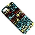 Block On Block, Aqua Apple iPhone 5 Hardshell Case with Stand View5