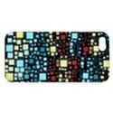 Block On Block, Aqua Apple iPhone 5 Premium Hardshell Case View1