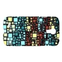 Block On Block, Aqua Samsung Galaxy S4 I9500/I9505 Hardshell Case View1