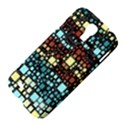 Block On Block, Aqua Samsung Galaxy S4 I9500/I9505 Hardshell Case View4