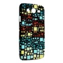 Block On Block, Aqua Samsung Galaxy Mega 5.8 I9152 Hardshell Case  View2