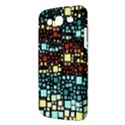 Block On Block, Aqua Samsung Galaxy Mega 5.8 I9152 Hardshell Case  View3