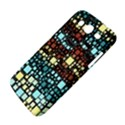 Block On Block, Aqua Samsung Galaxy Mega 5.8 I9152 Hardshell Case  View4