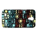 Block On Block, Aqua Samsung Galaxy Mega 6.3  I9200 Hardshell Case View1