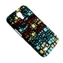 Block On Block, Aqua Samsung Galaxy Mega 6.3  I9200 Hardshell Case View5