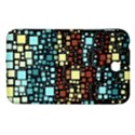 Block On Block, Aqua Samsung Galaxy Tab 3 (7 ) P3200 Hardshell Case  View1