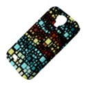 Block On Block, Aqua Samsung Galaxy S4 Classic Hardshell Case (PC+Silicone) View4