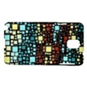 Block On Block, Aqua Samsung Galaxy Note 3 N9005 Hardshell Case View1