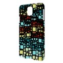 Block On Block, Aqua Samsung Galaxy Note 3 N9005 Hardshell Case View3