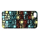 Block On Block, Aqua Apple iPhone 5C Hardshell Case View1
