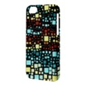 Block On Block, Aqua Apple iPhone 5C Hardshell Case View3