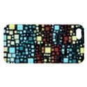 Block On Block, Aqua iPhone 5S/ SE Premium Hardshell Case View1