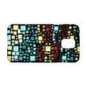 Block On Block, Aqua Samsung Galaxy S5 Hardshell Case  View1