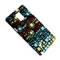 Block On Block, Aqua Samsung Galaxy Note 4 Hardshell Case View5