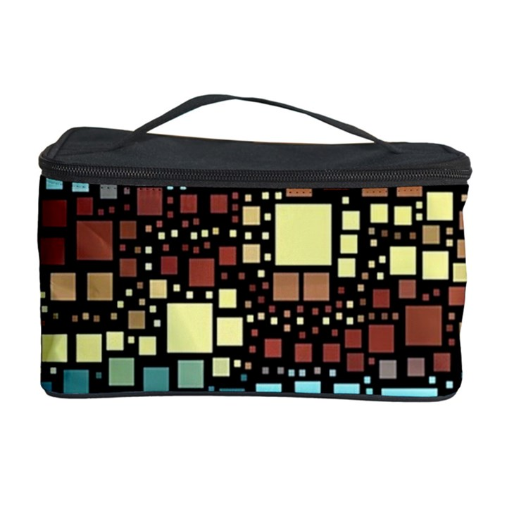 Block On Block, Aqua Cosmetic Storage Case
