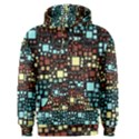 Block On Block, Aqua Men s Pullover Hoodie View1