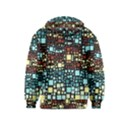 Block On Block, Aqua Kids  Pullover Hoodie View2