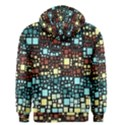 Block On Block, Aqua Men s Zipper Hoodie View2