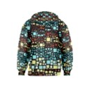 Block On Block, Aqua Kids  Zipper Hoodie View2