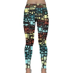 Block On Block, Aqua Yoga Leggings