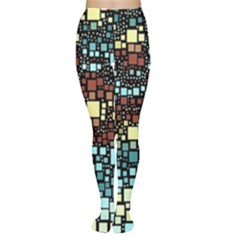 Block On Block, Aqua Women s Tights
