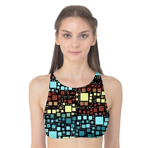 Block On Block, Aqua Tank Bikini Top