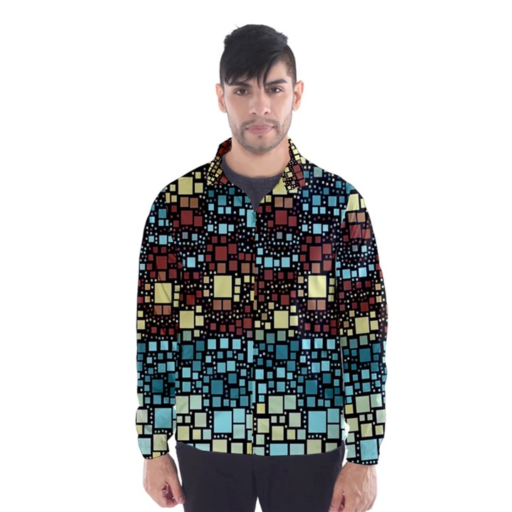 Block On Block, Aqua Wind Breaker (Men)