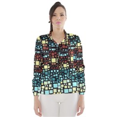 Block On Block, Aqua Wind Breaker (Women)
