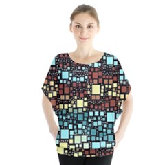 Block On Block, Aqua Blouse