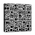 Block On Block, B&w Mini Canvas 8  x 8  View1