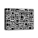 Block On Block, B&w Mini Canvas 7  x 5  View1