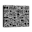 Block On Block, B&w Canvas 10  x 8  View1
