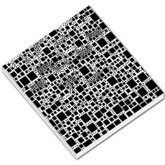 Block On Block, B&w Small Memo Pads